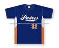 jerseys del béisbol de la impresión digital de secado rápido, 100% poliéster de béisbol / softball jersey / diseño libre con su