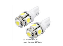 high brightnessT10 5050 5 smd 5w LED side marker light