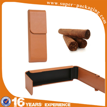 New product factory price natural color rectangle leather cardboard custom cigarette box