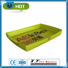 modern 25.5*38.5*3.1CM plastic rectangular tray