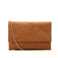 2015 Newest Simplicity Style Handbags Stitching Ladies Clutch Bag with Chain Strap
