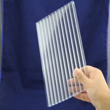 ISO proved 100%virgin lexan polycarbonate panel clear house roof cover material sheet with UV stabilized