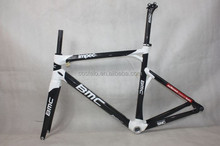 black and white oem bmc carbon frame road race bike complete carbon road bicycle frameset bmc impec bike for sale free shipping