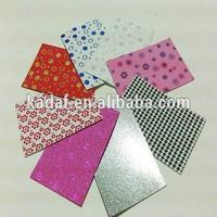 cut to size beautiful soft hot sale colored glitter for eva