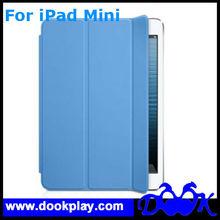 Slim Magnetic Smart Cover Wake/Sleep PU Stand Case for iPad mini Multi-Color