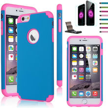 Cheap price high quality for Iphone 6 combo case / customize available housing for iphone 6 blank case any color available