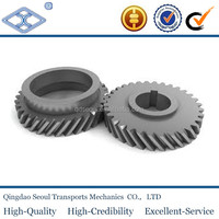KHG2-16 SCM440 JIS standard m2 custom 16T standard size ground helical gear