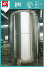Sanitary grade semi-luster polish airtight insulated stainless steel storage tank aseptic liquid filing apparatus for vegetables