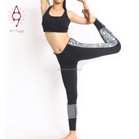 Slim ladies body building sexy yoga pants leggings