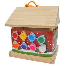 china suppliers selling ISo9001&FSC&SA8000 ECO-friendly wooden bird house, feeder, cage manufacturer