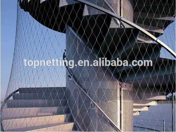 Flexible Stainless Steel Cable Mesh Bird Aviary Cable Nets