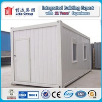 Hot sale ! 2015 Easy installation eco-friendly modern cheap living 20ft container house for Doha