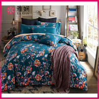 High Quality home designs Pure Cotton Printed Bedding Set