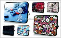 2015 Hot sale Eco-friendly custom printed neoprene laptop sleeve for USA market