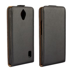 Up And Down Flip PU Leather Case Cover For Huawei Ascend y635