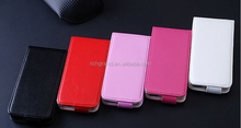 Luxury Fashion Vertical Flip PU Leather Case For iPhone 5C