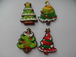 Christmas Santa Claus Rubber Fridge Magnets