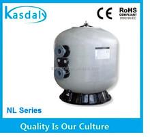 hottest outdoor fiberglass side mounted horizontal sand filter