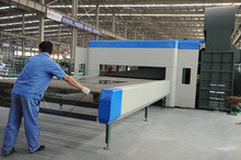 Shandong China Glass flat/curved hardening and tempering furnace
