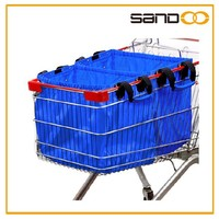 Hot selling cart supermarket polyester shopping bag