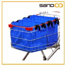 Hot selling cart supermarket polyester shopping bag