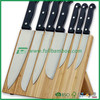 FB1-7003 Bamboo Magnetic cutlery knife block