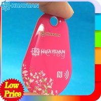 cheap nfc tags waterproof smart tag for mobile payment desfire ev1 2K NFC tag
