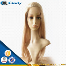 factory direct wholesale super quality swiss lace glueless blonde brazilian human hair lacefront wigs for white women