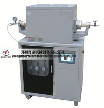 high temperature light weight tube CVD material made tube furnace