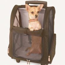 Pet trolley bag / shoulder back dog pack / outdoor portable pet bag / dog backpack
