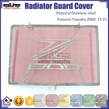 BJ-RG-KA003 Kawasaki Motorcycle Parts Stainless Steel Radiator Grille Guard Cover Protector For Z800 13-15