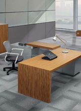 2015 popular office desk solid wood modern design high quality customized office executive table