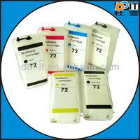 DOIT refillable ink cartridge for HP 72 HP72 for HP Designjet T610 T790 T1100 printer
