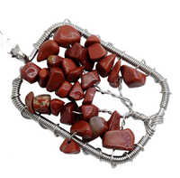 wholesale rectangle shape lucky tree pendant with red stone chip gemstone for women and decorate gift 10pcs/lot