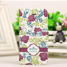 Low price PU leather cell phone case for iphone 6 book style