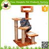 wooden cat ladder cat scratching mat for pets