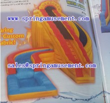 Super cool inflatable water slides with pool SP-PS009