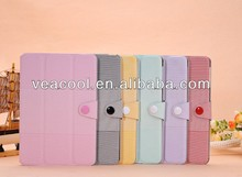 """PU Leather Smart Case Stand Cover For Apple Ipad MINI 7""""tablet case"""