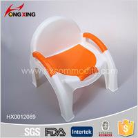 Plastic infant baby potty chair/baby potty toilet seat/kids potty training