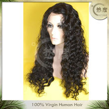 Best selling!!! hair quality 100% brazilian hair silicone wigs