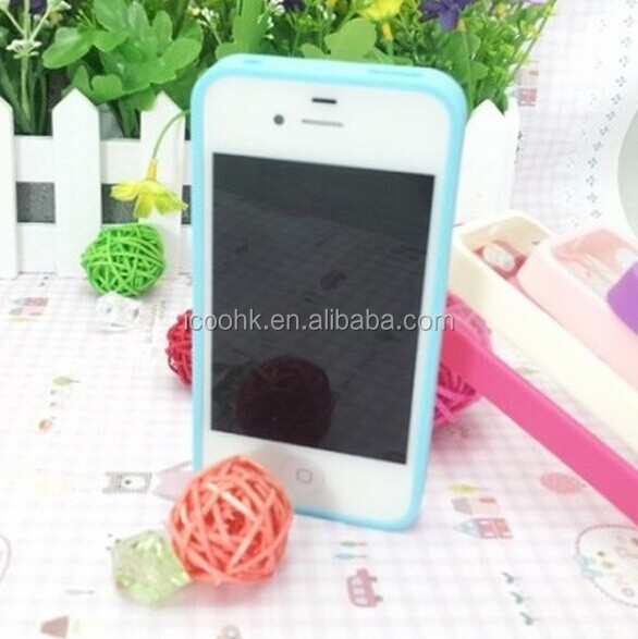 tpu+Acrylic two mobile phones leather case