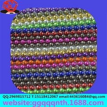 necklace endings aluminum color red green blue purple Hung electric electrophoresis Barrel plating Spray paint bead chain