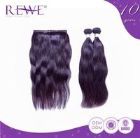 Clean And Soft Silk Straight Beauty Vip Peruvian Wet And Wavy Hair Curly