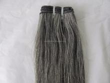 Queen like grey brazilian hair silky straight 20 inch virgin remy human hair weft