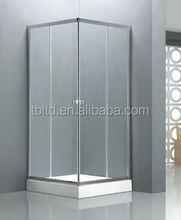 2015 new design Oxidized Aluminum Frame shower rooms