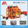 Qt4-25 semi automática máquina de fazer tijolos de cimento blocos para venda