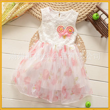 Picture of children casual dress lovely dress for girl 3 years children fancy dress flower