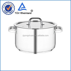 Eco-Friendly feature and cookware parts with flat glass lid