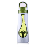 Top Selling Products 500ML Food-grade Tea Bottle with tea strainer, Durable Plastic Cup, Water Bottle
