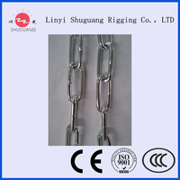factory manufacturer DIN766 lifting chain link chain